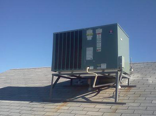 Roof Mounted Freon 410 A